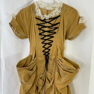 Vintage Colonial Rococo dress - made in 50s - XXS